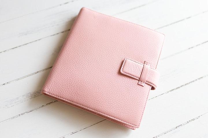 ASHFORDシルフ シボ加工&大人可愛いピンク色でテンション上がります!