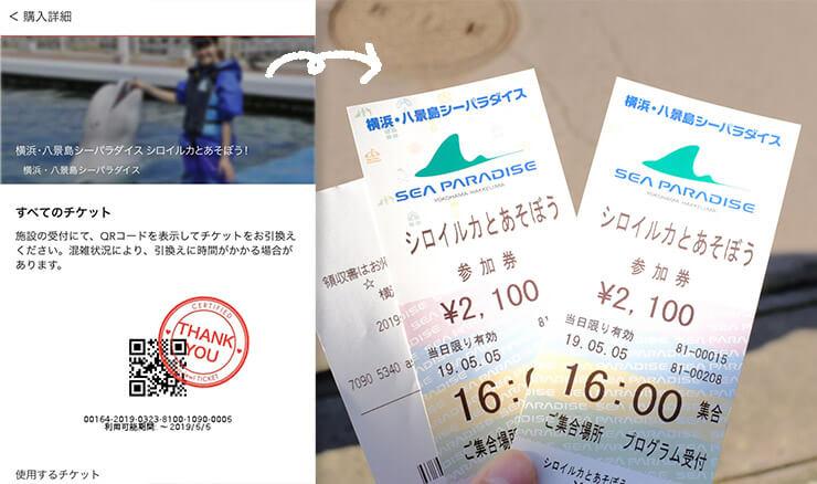 パラダイス 八景島 チケット シー